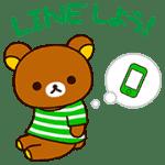 【限定スタンプ】リラックマ♪LINEカラー 配布期間は2016年6月13日(月)まで