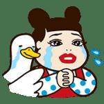 【無料スタンプ】人気芸人×アフラックコラボスタンプ 配布期間は2016年8月15日(月)まで