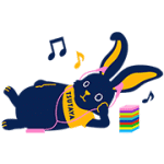 【無料スタンプ】TSUTAYA 選ぼウサギ|配布期間は2016年10月16日(日)まで