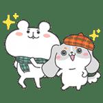 【無料スタンプ】ファッピー×ゆるくま★コラボスタンプ|配布期間は2016年11月21日(月)まで