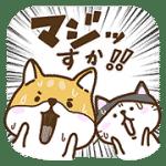 【無料スタンプ】新キャラでたよ!柴太郎&はちこ第3弾|配布期間は2017年2月27日(月)まで