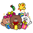 LINE Characters with LINE SMART PARTY