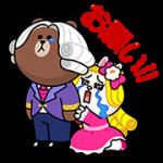 【無料スタンプ】POPショコラ X 貴族風スタンプ|配布期間は2017年4月17日(月)まで