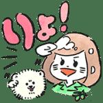 【無料スタンプ】ゆるかわ♪ミス・オリーブ水川あさみ|配布期間は2017年4月10日(月)まで