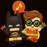 【無料スタンプ】バブル2×レゴ®バットマン ザ・ムービー|配布期間は2017年5月9日(火)まで