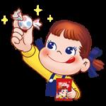 【無料スタンプ】ミルキーペコメロ♪スタンプ 配布期間は2017年8月21日(月)まで