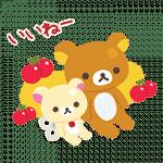 【無料スタンプ】LINEポコポコ×リラックマ|配布期間は2017年5月15日(月)まで