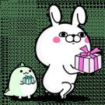 【無料スタンプ】うさぎ100%×LINE STORE|配布期間は2017年5月10日(水)まで