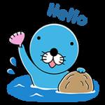 【無料スタンプ】ブラウンファーム : ぼのぼのコラボ|配布期間は2017年7月12日(水)まで