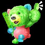 【無料スタンプ】サランラップ®の、たぶん、クマ。第二弾!|配布期間は2017年7月31日(月)まで