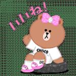 【無料スタンプ】おしゃれ大好き!CHOCOの日常|配布期間は2017年10月12日(木)まで