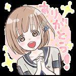 【限定スタンプ】流星イニシャライズ~1/5の恋人~|LINEマンガ購入特典