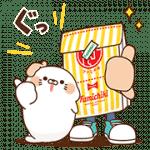 【無料スタンプ】ファミチキ先輩×毒舌あざらし|配布期間は2017年11月13日(月)まで