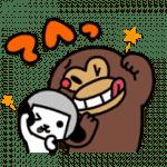 【無料スタンプ】けんさく と えんじん 3|配布期間は2017年11月6日(月)まで