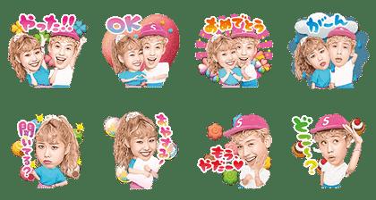 LINE POP ショコラ×りゅうぺこ