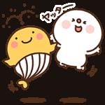【無料スタンプ】宝くじクーちゃん×だいふく|配布期間は2017年12月11日(月)まで