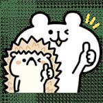 【無料スタンプ】ゆるくま 三菱地所レジデンス限定スタンプ|配布期間は2017年12月11日(月)まで