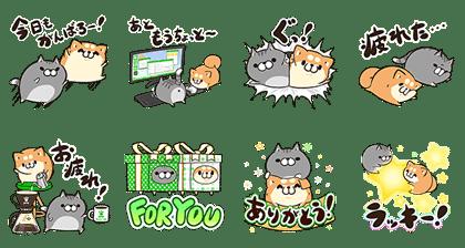 LINE STORE × ボンレス犬&猫
