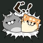 【無料スタンプ】LINE STORE × ボンレス犬&猫|配布期間は2018年1月3日(水)まで