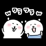 【無料スタンプ】自分ツッコミくま × ニトリのシロクマ|配布期間は2018年2月19日(月)まで