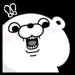 【無料スタンプ】ライスフォース×くま&ぬこ100% 配布期間は2018年2月26日(月)まで