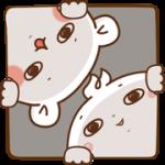 【無料スタンプ】ゲスくま×ジョブーブ|配布期間は2018年3月26日(月)まで