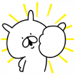 【無料スタンプ】ゆるうさぎ×洋服の青山コラボスタンプ誕生|配布期間は2018年3月12日(月)まで