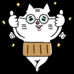 【無料スタンプ】TOYOTA キロボミニ×おやじ♡ねこ助|配布期間は2018年3月19日(月)まで