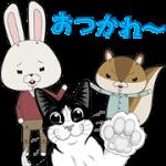 【無料スタンプ】「フィリックス」 × 「紙兎ロペ」スタンプ|配布期間は2018年5月16日(水)まで