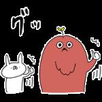 【無料スタンプ】ムック×うさぎ帝国 配布期間は2018年4月2日(月)まで