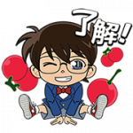【無料スタンプ】LINE ポコポコ × 名探偵コナン|配布期間は2018年3月29日(木)まで