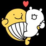 【無料スタンプ】宝くじクーちゃん×ガーリーくまさん|配布期間は2018年4月16日(月)まで