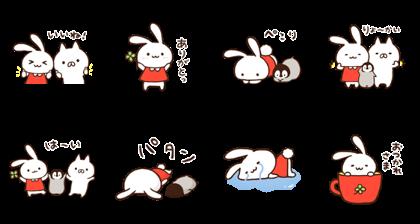 ミミちゃん×ねこぺん日和★スタンプ第2弾
