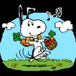 【無料スタンプ】ブラウンファーム:スヌーピーコラボ 配布期間は2018年5月18日(金)まで