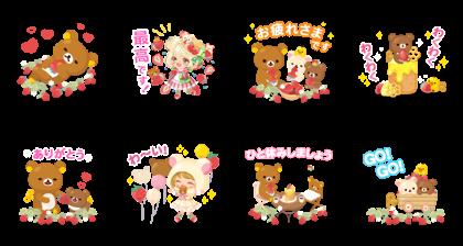 LINE プレイ × リラックマ