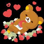 【無料スタンプ】LINE プレイ × リラックマ|配布期間は2018年5月24日(木)まで