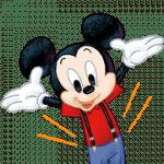 【限定スタンプ】【入会特典】ミッキーマウス