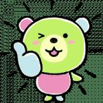 【無料スタンプ】サランラップ®のたぶん、クマ。第3弾!|配布期間は2018年9月10日(月)まで