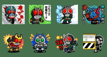 LINE レンジャー×仮面ライダーコラボ