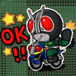 【無料スタンプ】LINE レンジャー×仮面ライダーコラボ|配布期間は2018年10月26日(金)まで