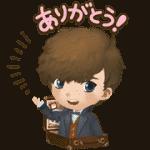【無料スタンプ】バブル2x魔法ワールド コラボ第2弾!|配布期間は2018年11月27日(火)まで