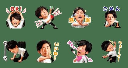 氷結®×高橋一生スタンプ【ノリノリ編】