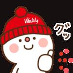 【無料スタンプ】住友生命「Vitality」 × だいふく|配布期間は2019年3月18日(月)まで