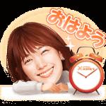 【無料スタンプ】本田翼&ホームズくんスタンプ|配布期間は2019年3月11日(月)まで