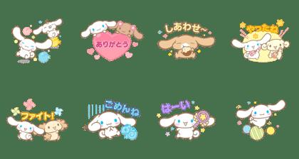 LINE POP2 & シナモロール