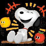 【無料スタンプ】バブル2xスヌーピー コラボスタンプ!|配布期間は2019年4月3日(水)まで