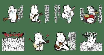 うさロック × LINE RECORDS