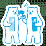 【無料スタンプ】SEA BREEZE しろくまスタンプ|配布期間は2019年6月13日(木)まで