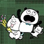 【無料スタンプ】ごきげんぱんだ×プロたん&サリー|配布期間は2019年5月27日(月)まで