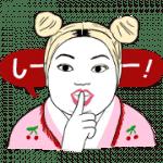 【無料スタンプ】架純&直美★すっぴん素肌トーク スタンプ|配布期間は2019年7月1日(月)まで